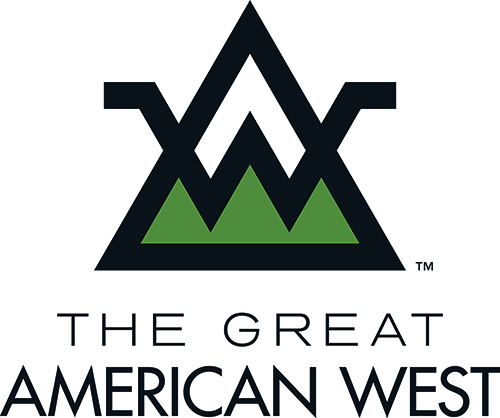 Logo THE GREAT AMERICAN WEST - ROCKY MOUNTAIN INT. ITALIA