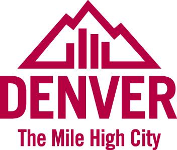 Logo DENVER - VISIT DENVER - CVB