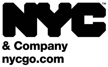 Logo NYC & COMPANY C-o AIGO communication & more