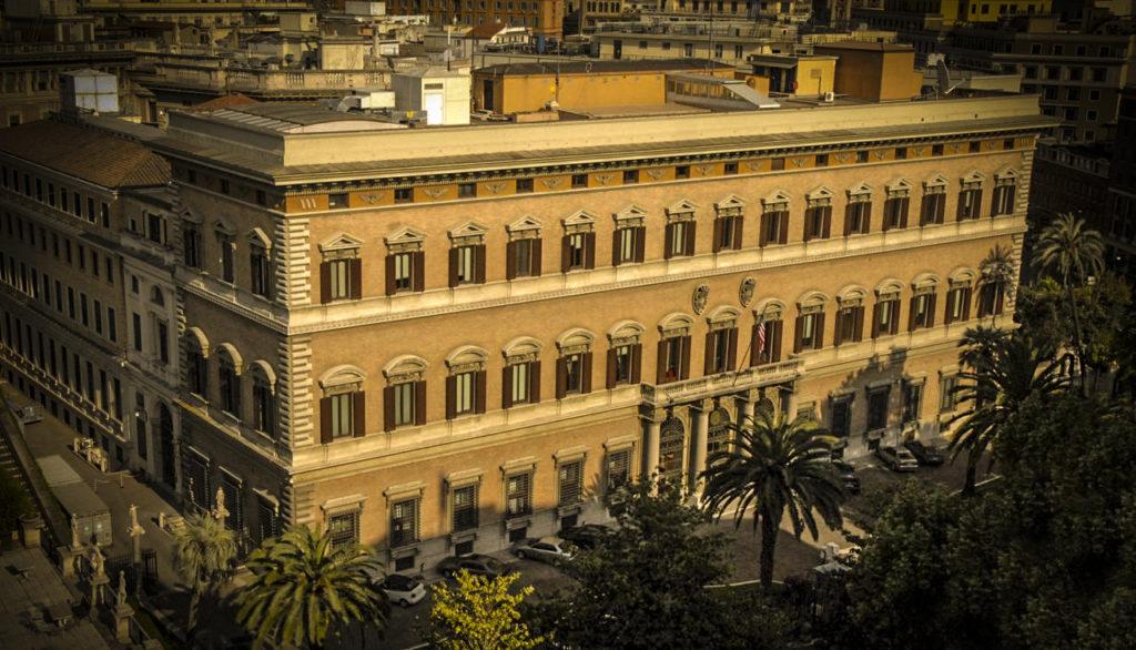 L'Ambasciata USA a Roma