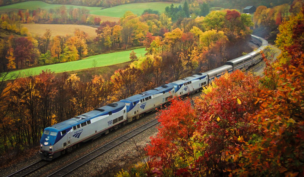 Treno Amtrak Stati Uniti