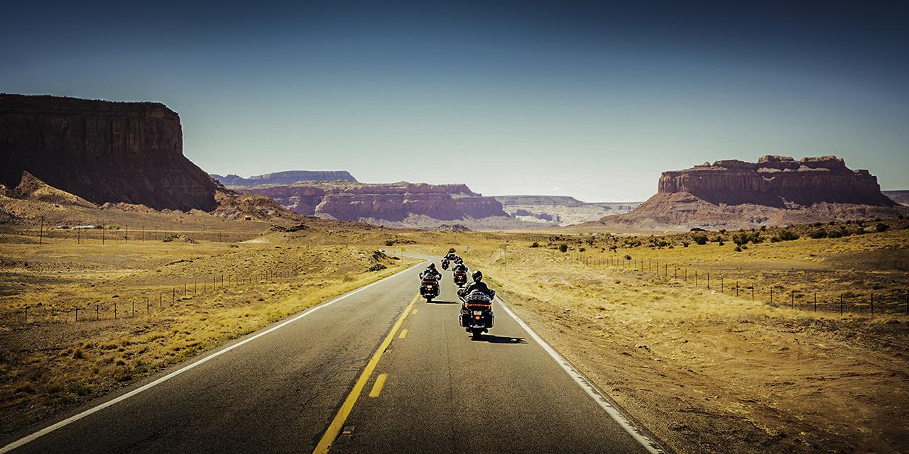 In moto negli USA