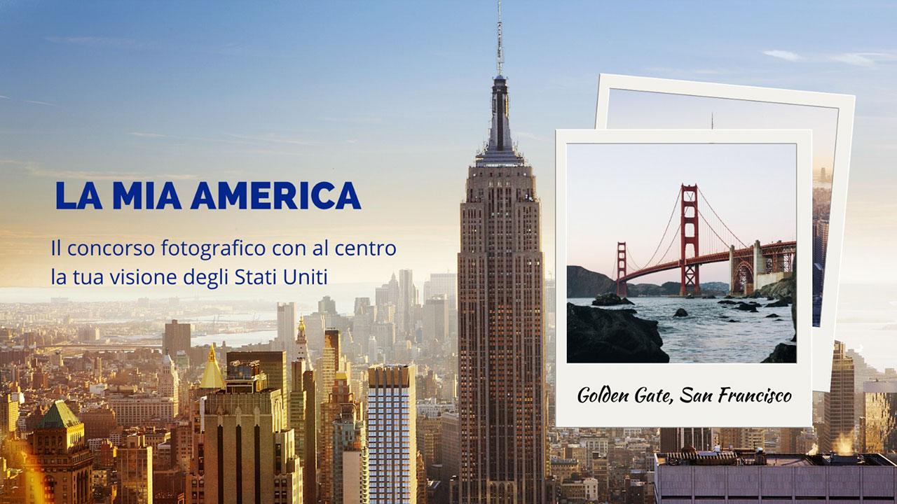 """Concorso fotografico """"La Mia America"""" promosso da Visit USA Italia"""