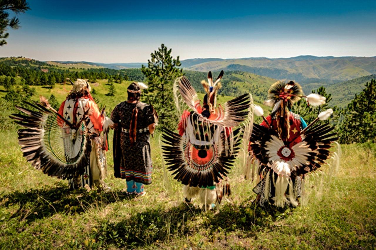 Indiani nativi del South Dakota