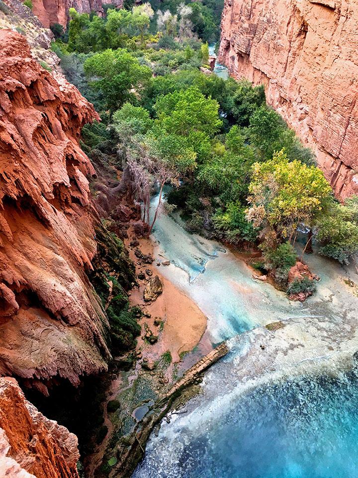 """""""Mooney Falls, Arizona"""", foto di Monica Cervi"""