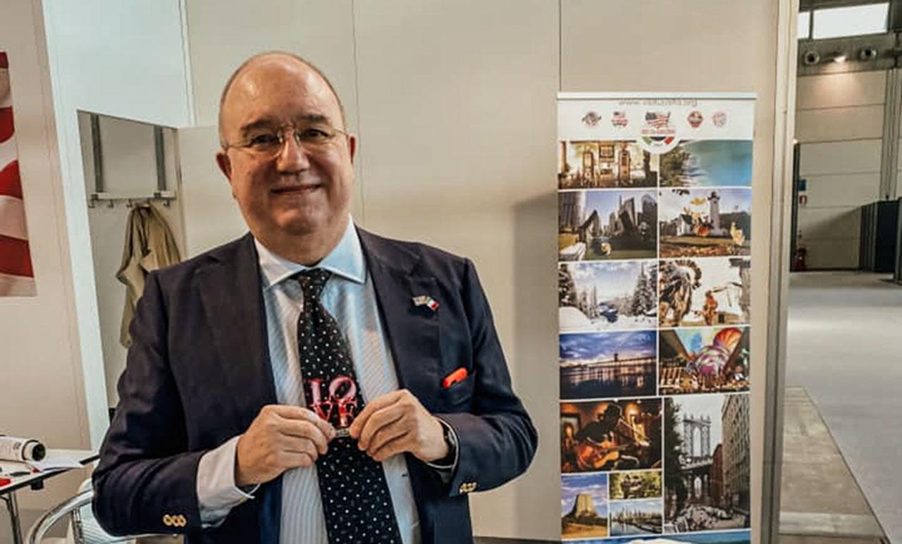 Massimo Loquenzi Presidente Visit USA Italia