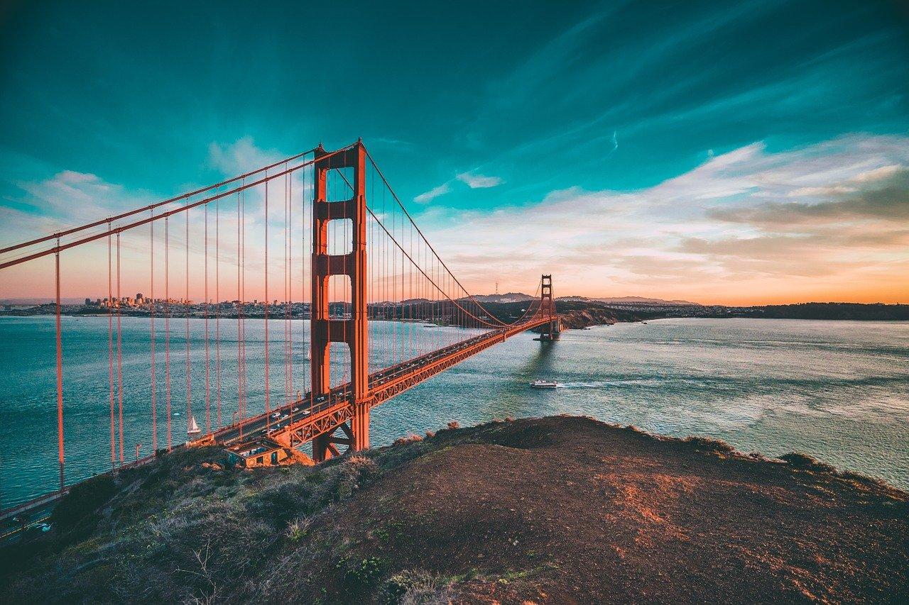 California, uno degli Stati Uniti della regione del Pacifico