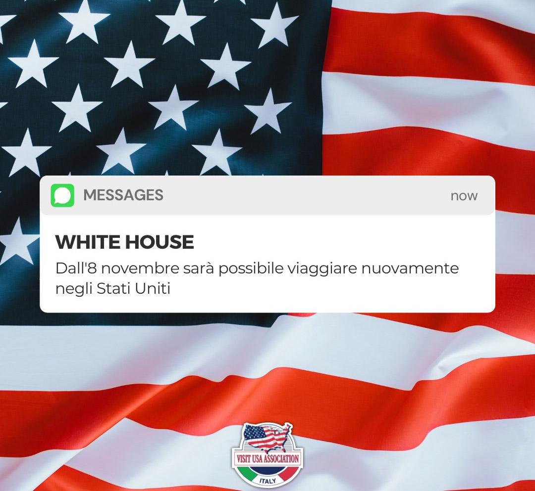 Riapertura frontiere USA 8 Novembre